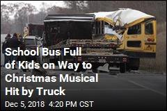 Student Killed When Truck Rear-Ends School Bus