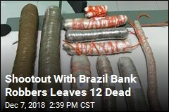 Shootout With Brazil Bank Robbers Leaves 12 Dead