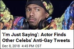 Actor Fires Back With Female Comedians' Anti-Gay Tweets