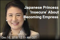 Japan Princess 'Insecure' About Becoming Empress