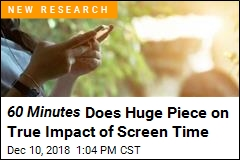60 Minutes Does Huge Piece on True Impact of Screen Time