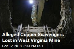 Alleged Copper Scavengers Lost in West Virginia Mine