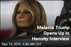 Melania Slams 'Opportunists' in Rare Interview