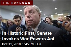 Senate May Invoke War Powers Act for First Time