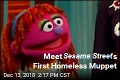 This Is Sesame Street 's First Homeless Muppet