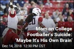 After Suicide, College Footballer's Brain to Be Studied