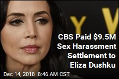 CBS Paid Actress $9.5M to Settle Sex Harassment Claim