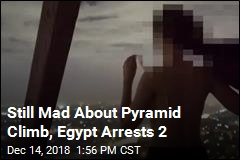 2 Arrested After Nude Photo Shoot Atop Great Pyramid