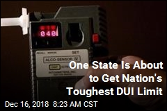 One State Is About to Get Nation's Toughest DUI Limit