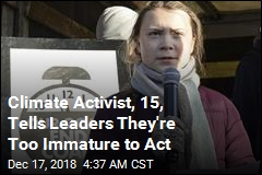 Climate Activist, 15, Tells Leaders They're Not Mature Enough to Act