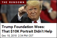 Amid Lawsuit, Trump Shuttering His Foundation