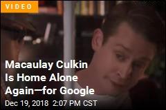 Macaulay Culkin Is Home Alone Again—for Google