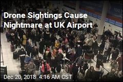 Drone Sightings Cause Chaos at UK Airport