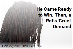 He Came Ready to Win. Then, a Ref's 'Cruel' Demand