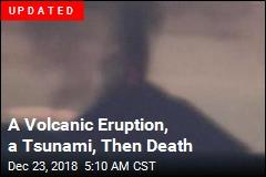Volcano Triggers Tsunami, Leaving 43 Dead in Indonesia