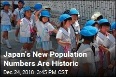 Japan's New Population Numbers Are Historic