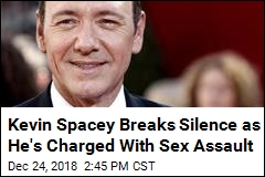 Kevin Spacey Breaks Silence as He's Charged With Sex Assault