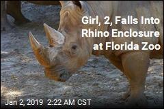 Girl, 2, Falls Into Rhino Enclosure at Florida Zoo