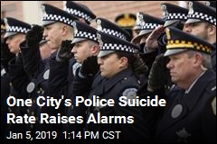 One City's Police Suicide Rate Raises Alarms