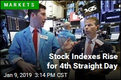Stock Indexes Rise for 4th Straight Day