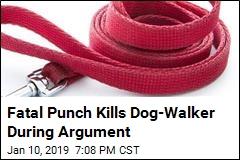Fatal Punch Kills Dog-Walker During Argument