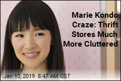 Marie Kondo Is a Boon for Thrift Stores