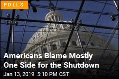 Americans Mete Out Blame for the Shutdown