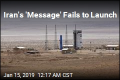 Iran Satellite Launch Fails
