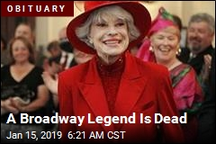 A Broadway Legend Is Dead