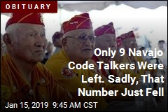 Dwindling Navajo Code Talkers Lose One of Their Own