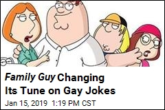 Family Guy Phasing Out Gay Jokes