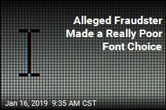 Alleged Fraudster Foiled by 'Font Detective'