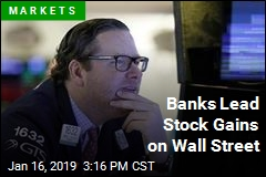Banks Lead Stock Gains on Wall Street