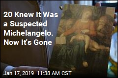 Possible Work by Michelangelo Vanishes Days Before Study