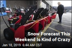Snow Forecast This Weekend Is Kind of Crazy