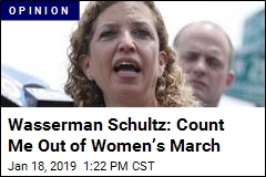 Wasserman Schultz: Why I'm Skipping Women's March