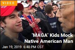 Catholic 'MAGA' Kids Mock Native Americans