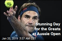 Stunning Day for the Greats at Aussie Open