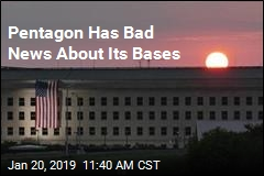 Pentagon: Our Bases Are Flooding