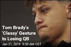 Tom Brady's 'Classy' Gesture to Losing QB