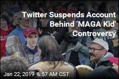 Twitter Suspends Account Behind ''MAGA Kid' Controversy