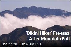 'Bikini Hiker' Freezes After Mountain Fall