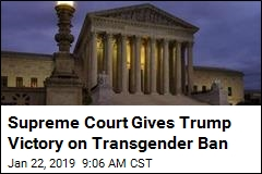 Supreme Court Allows Military Transgender Ban, for Now