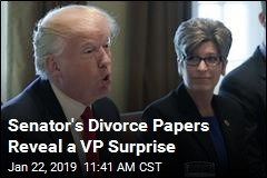 Senator's Divorce Papers Reveal a Trump Offer