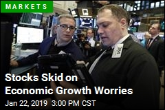 Stocks Skid on Economic Growth Worries