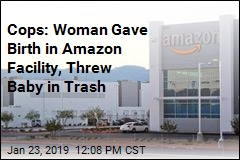 Woman Arrested for Abandoning Newborn in Amazon Warehouse