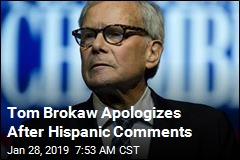 Tom Brokaw: 'I Feel Terrible' Over Hispanic Comments