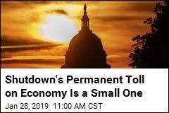Shutdown's Permanent Toll on the Economy: $3B Loss