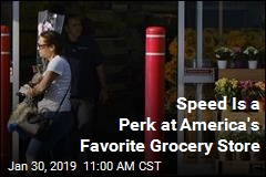Speed Is a Perk at America's Favorite Grocery Store