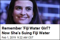 Fiji Water Helped Make Her Famous. Now She's Suing